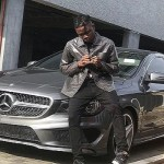 Lil Kesh shows off his brand new Mercedes Benz whip (Photos)