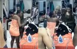 BBNaija 2019: 'Your blocus Will Scatter' - Thelma Tells Omashola After he barged into the Bathroom While She was Naked (Video)