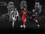Lionel Messi, Cristiano Ronaldo and Virgil Van Dijk, on 3-Man Shortlist for UEFA Men's Player of the Year
