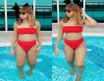 Regina Daniels Flaunt Her Banging Bikini body On Display in New Stunning Photos