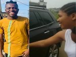 Nigerian Comedian, Akpororo surprises his wife with a brand new SUV (video)