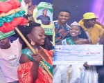"Weyinmi Profit Udoro, Wins ""Face Of WealthNaija 2019/2020"" (See All Photos)"