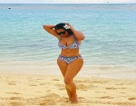 Nollywood Star, Chika Ike flaunts her curves at the beach