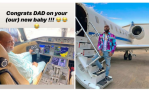 Davido's billionaire Dad, Adedeji Adeleke buys New Private Jet for long haul Flights, Costs N22b (Video)