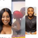 #BBNaija: Kiddwaya fondles Erica's breasts then asks if she will like to have a boob job (Video)