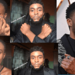 Nigerian Makeup Artist Transforms Her Face To look like Late Chadwick-Boseman (Photos & Video)