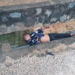 Corpse of a Woman found dumped inside Drainage in Benue State ( Photos)