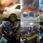 Many Feared dead as Gas Plant Explodes in Delta state (Photos/Video)