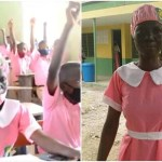 50-year-old Woman resumes JSS2 at Ilorin Grammar School, kwara state (Photos)