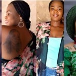 """I feel like killing Myself"" – Lady who tattoed Bobrisky on her body, now homeless, begs for help"