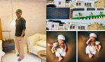 Nigerian Comedian, MC Edo Pikin shows off his new house, dedicates it to his son (video)