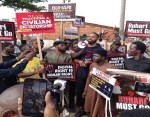 #June12: Protesters in Abuja (Photos)