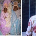 Nigerian Couple welcomes triplets after 12 years of Childless Marriage ( Photos)