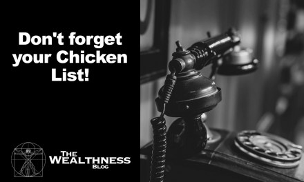 Don't forget your Chicken List!