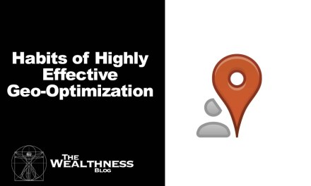 Habits of Highly Effective Geo-Optimization