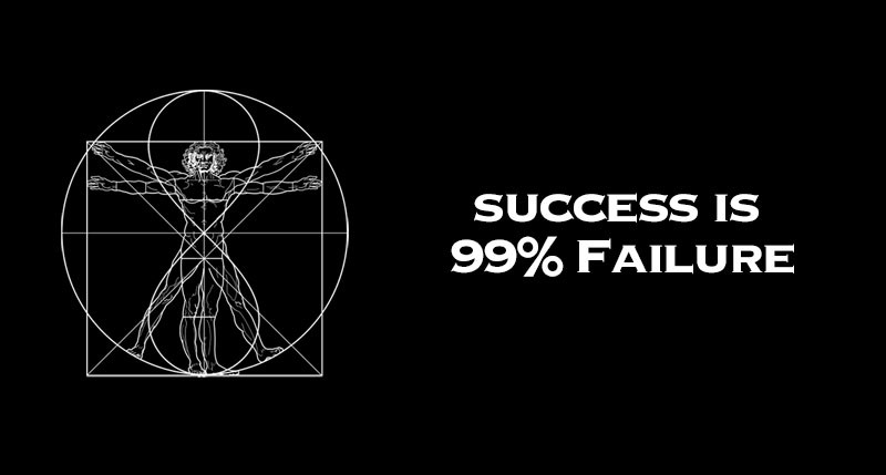 success is 99 failure