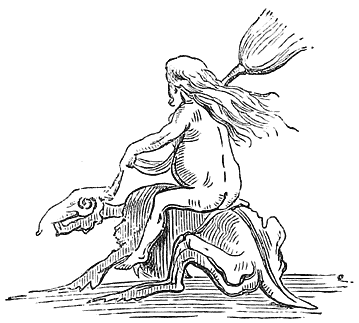 A Witch Mounted (Della Bella)