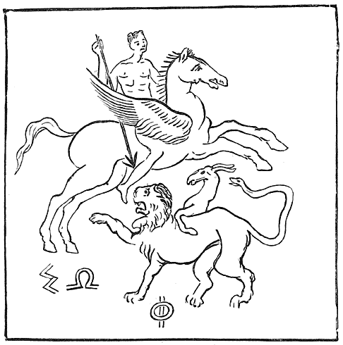 Bellerophon and Chimæra (Corinthian).