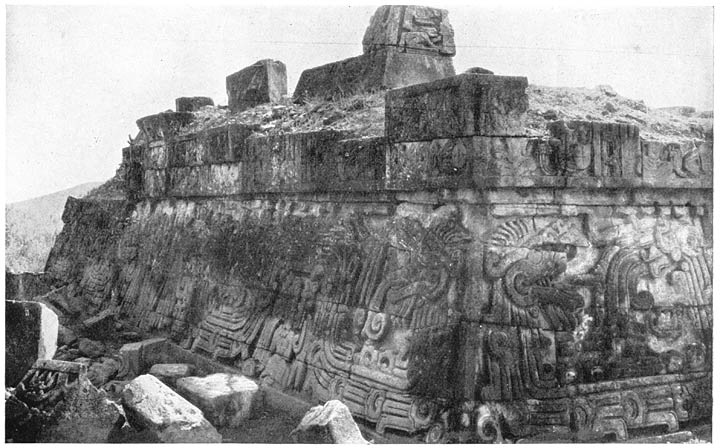 Ruins of the Pyramid of Xochicalco