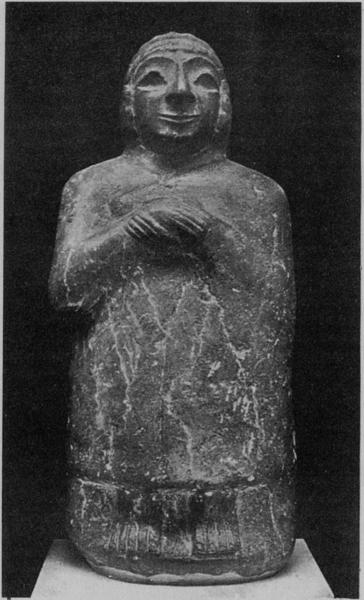 STATUE OF A ROYAL PERSONAGE OR OFFICIAL OF NON-SEMITIC ORIGIN