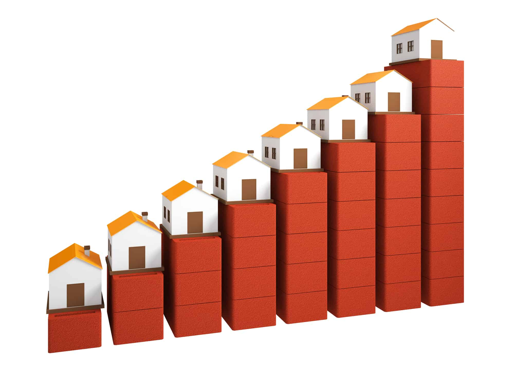 Illustrative real estate chart of housing