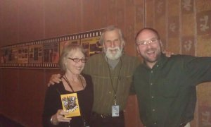 "I met independent film producers Ric Sternberg and Annie Borden at the Green Bay Film Festival years ago. There comedy ""Camp Kickitoo"" is one of the funniest movies I ever watched. It was a thrill meeting them. This image is linked to their movie available on Amazon."