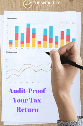 Take these simple steps to audit-proof your tax return. Avoid an IRS audit the easy way. IRS insider explains how the IRS chooses tax returns for audit.