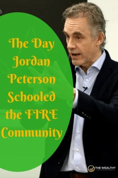 The day Jordan Peterson schooled the early retirement community. Follow your dreams, but beware the world's advice to check out. Life isn't travel and sleeping on the beach. #FIRE #jordanpeterson #planning #changing #livingright #dreamjob