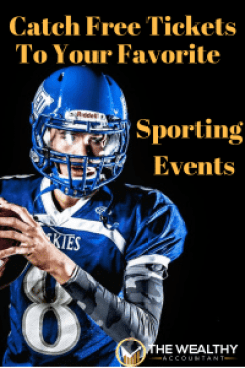 Attend any sporting event free with this little known secret. Planning is important. You and your friends can enjoy any football game for free. You might even get paid to see the Super Bowl. #wealthyaccountant #superbowl #sports #sportingevent #planning #americanfootball