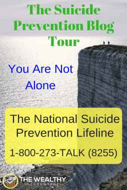 September is Suicide Awareness and Prevention Month. Debt is a leading cause of suicide. Debt help is available. Debt free. Debt freedom. Debt snowball. IRS debt. #wealthyaccountant #debt #suicide #suicideawareness #suicideprevention #debtsnowball #debtfree #irsdebt