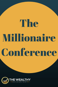 Want to be rich? A millionaire? Then you need to attend the FinCon conference. Learn how you can be a millionaire. #wealthyaccountant #millionaire #rich #wealth # money #conference #seminar