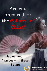 Are you prepared for the collapse of China and the debt bubble? Protect your finances with these 3 simple steps.