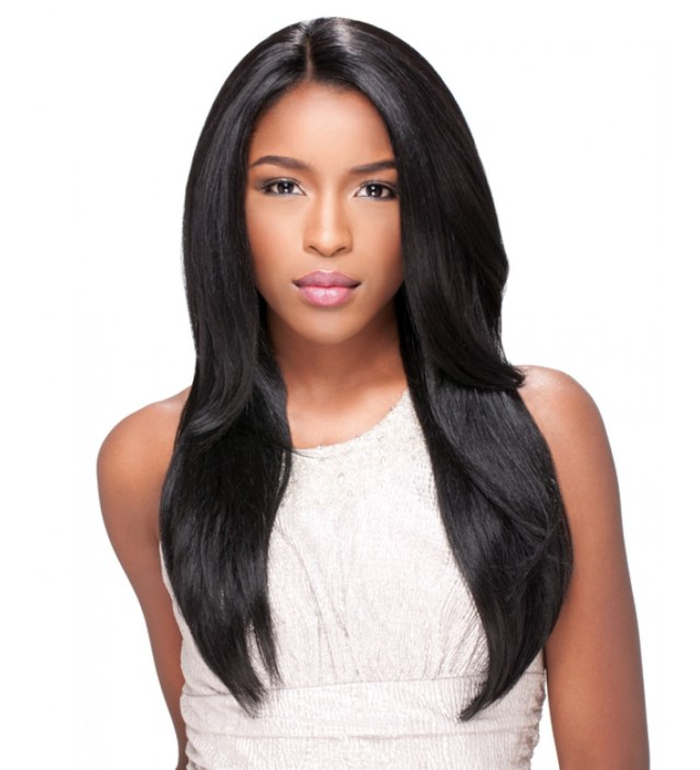 virgin remy sew in weave hair extensions natural straight - brazilian- malaysian- indian- peruvian