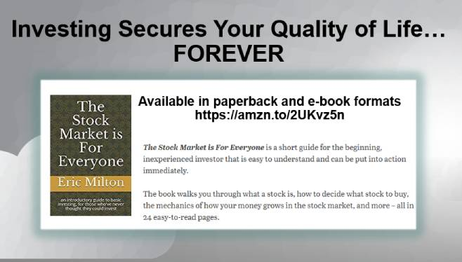 Investing Secures Your Quality of Life – FOREVER