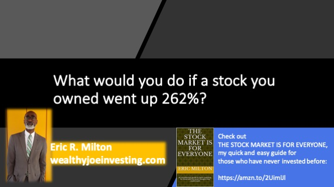 How To Handle A 262% Profit