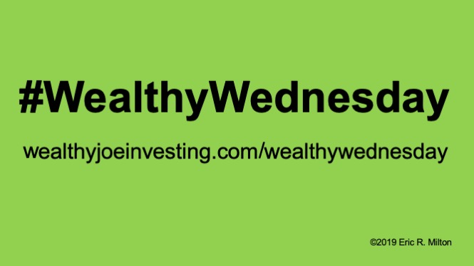 I Christen Today…Wealthy Wednesday!