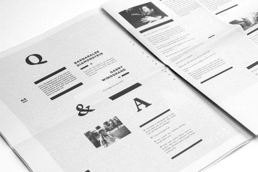 Crop Magazine – layout and editorial design.
