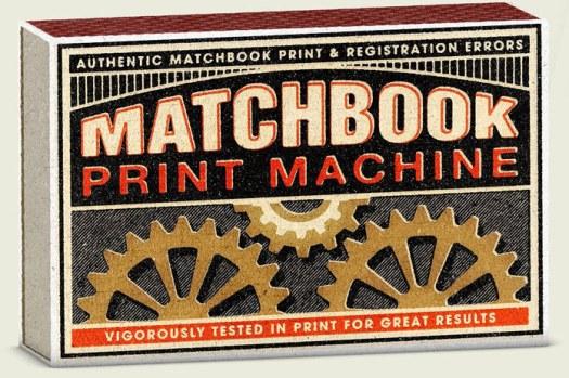 Matchbook Print Machine