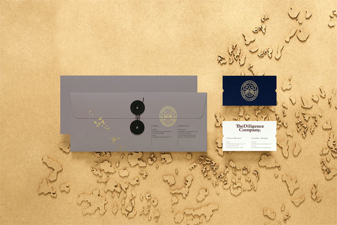 Envelopes and business cards.
