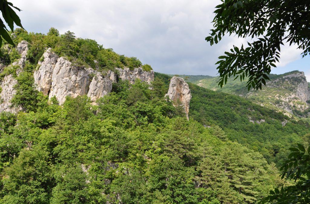 Большой каньон в Крыму