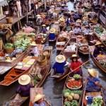 Плавучий рынок Таиланда