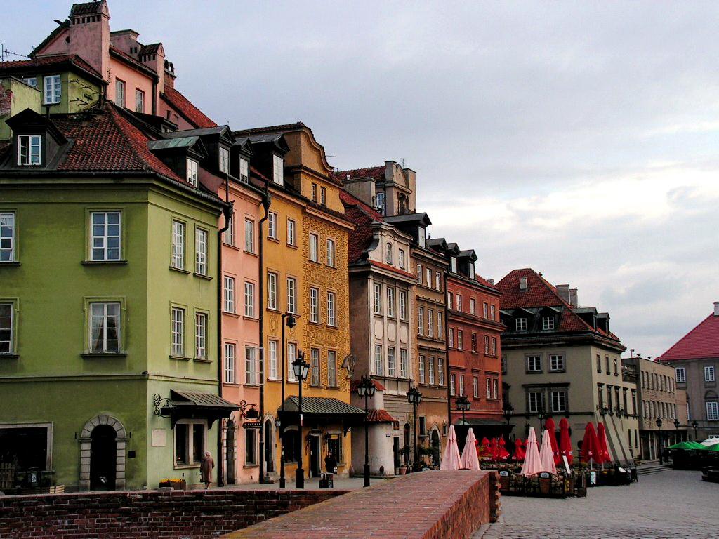 Исторический район Прага в Варшаве