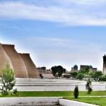 Крепость Арк и панорама исторического центра Бухары