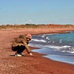 Следы на песке. Балхаш