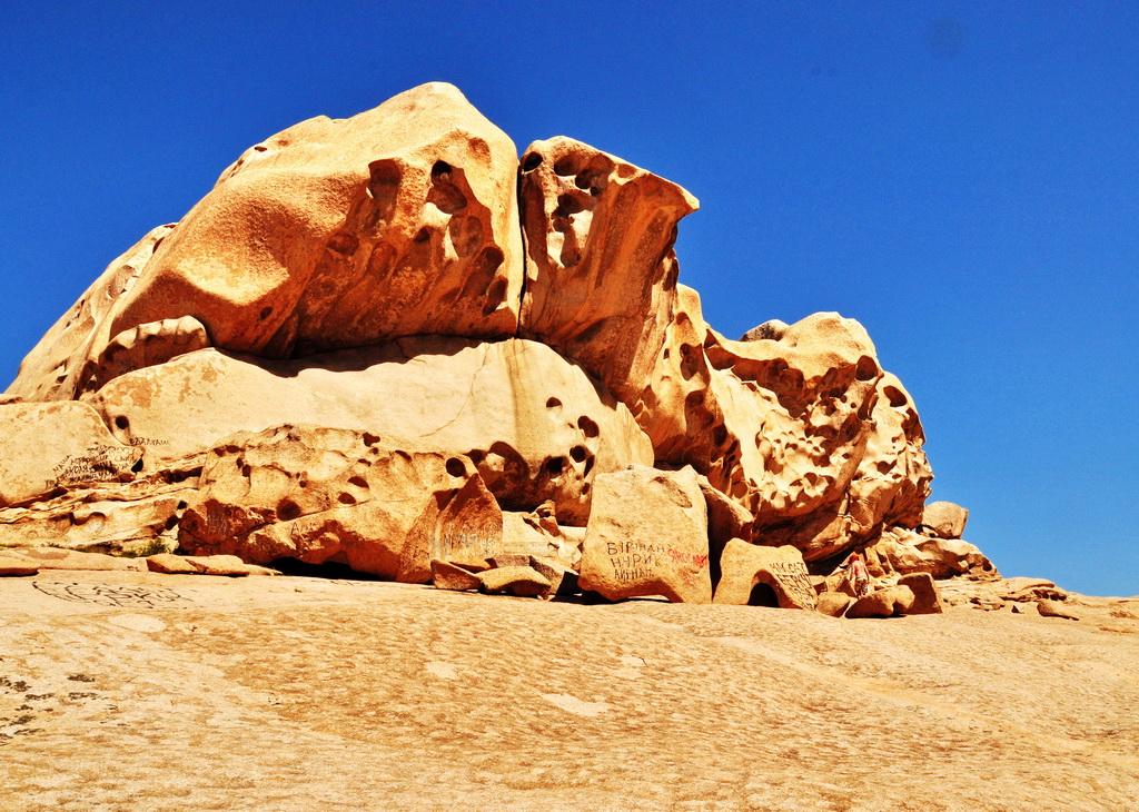 Узоры гранитных скал