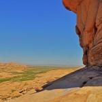 Вид на Бектау-ата с вершины