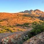 Восход солнца на Бектау-ата