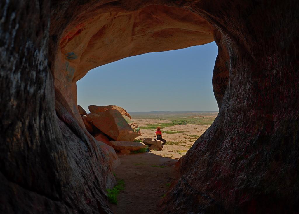 Пещера Аулие в Бектау-ата
