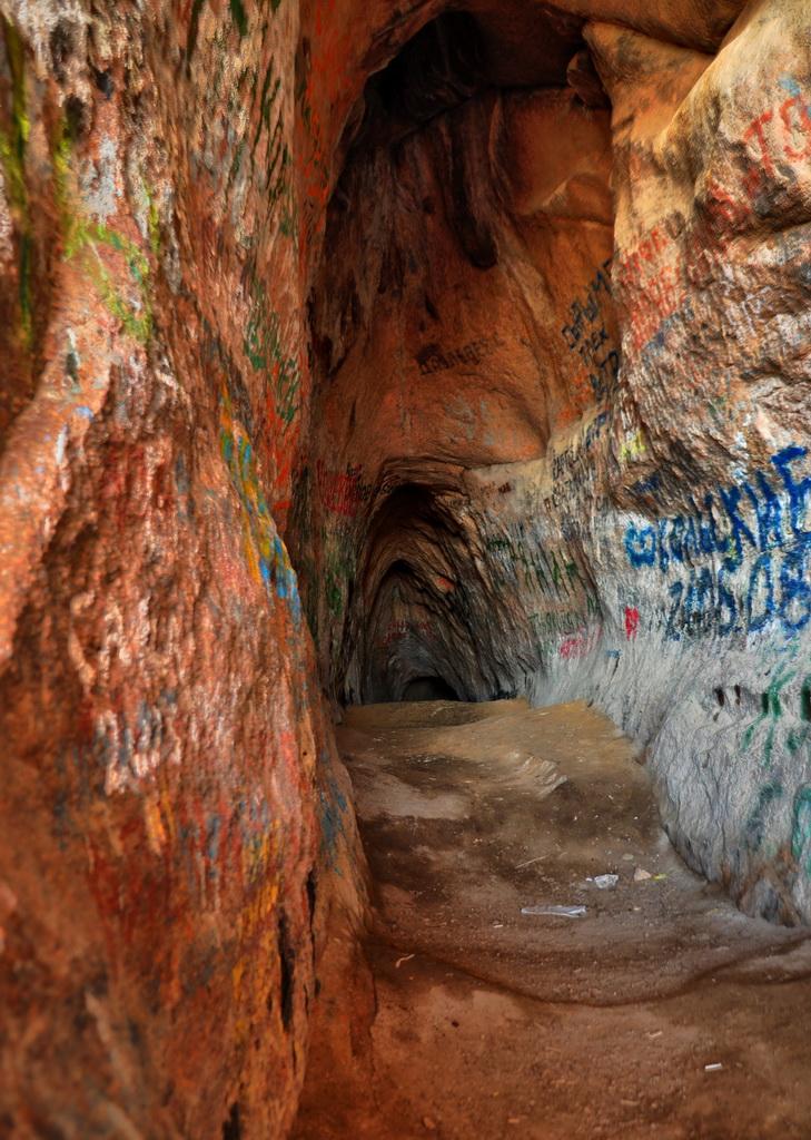 стены пещеры Аулие