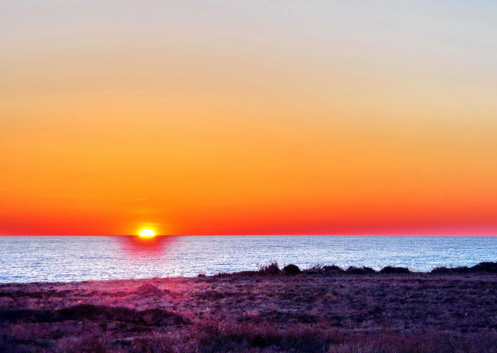 Восход в степи Прибалхашья